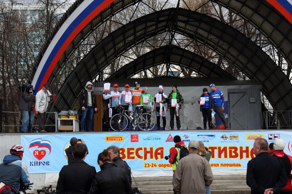 Велогонка в Кирове
